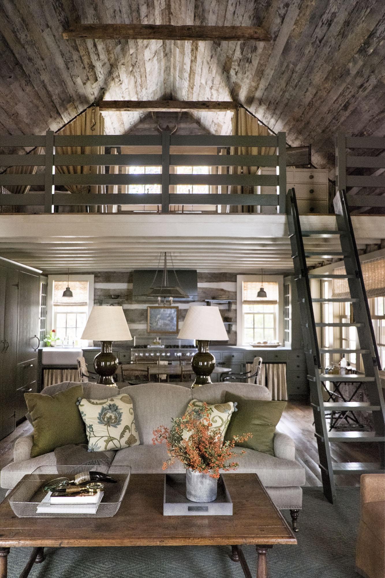 Sewanee Cabin Tammy Connor Interior Design