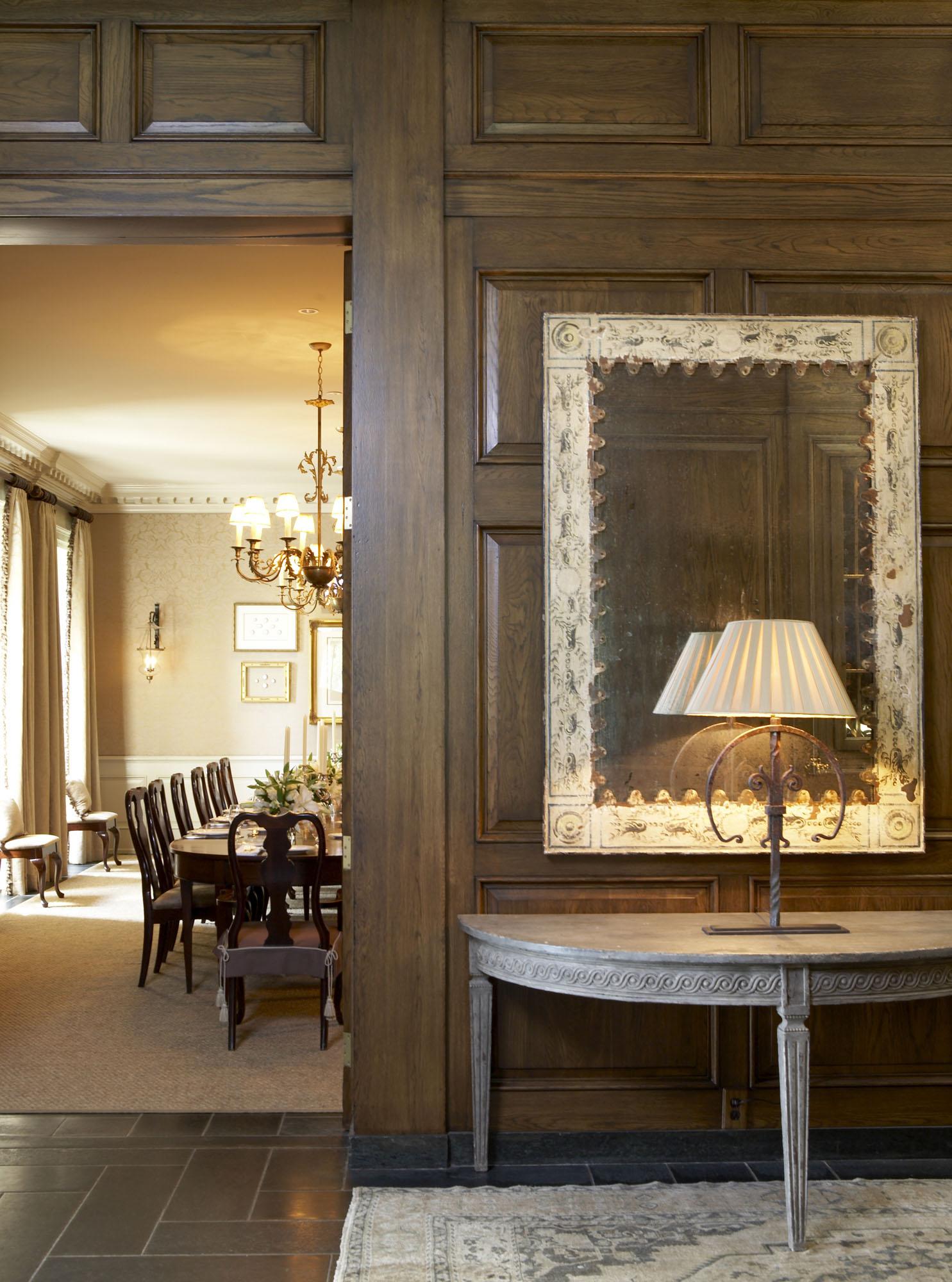 Country club interior design